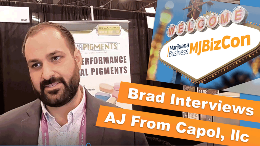 Arriving at MJBizCon | Interviewing AJ from Capol, llc