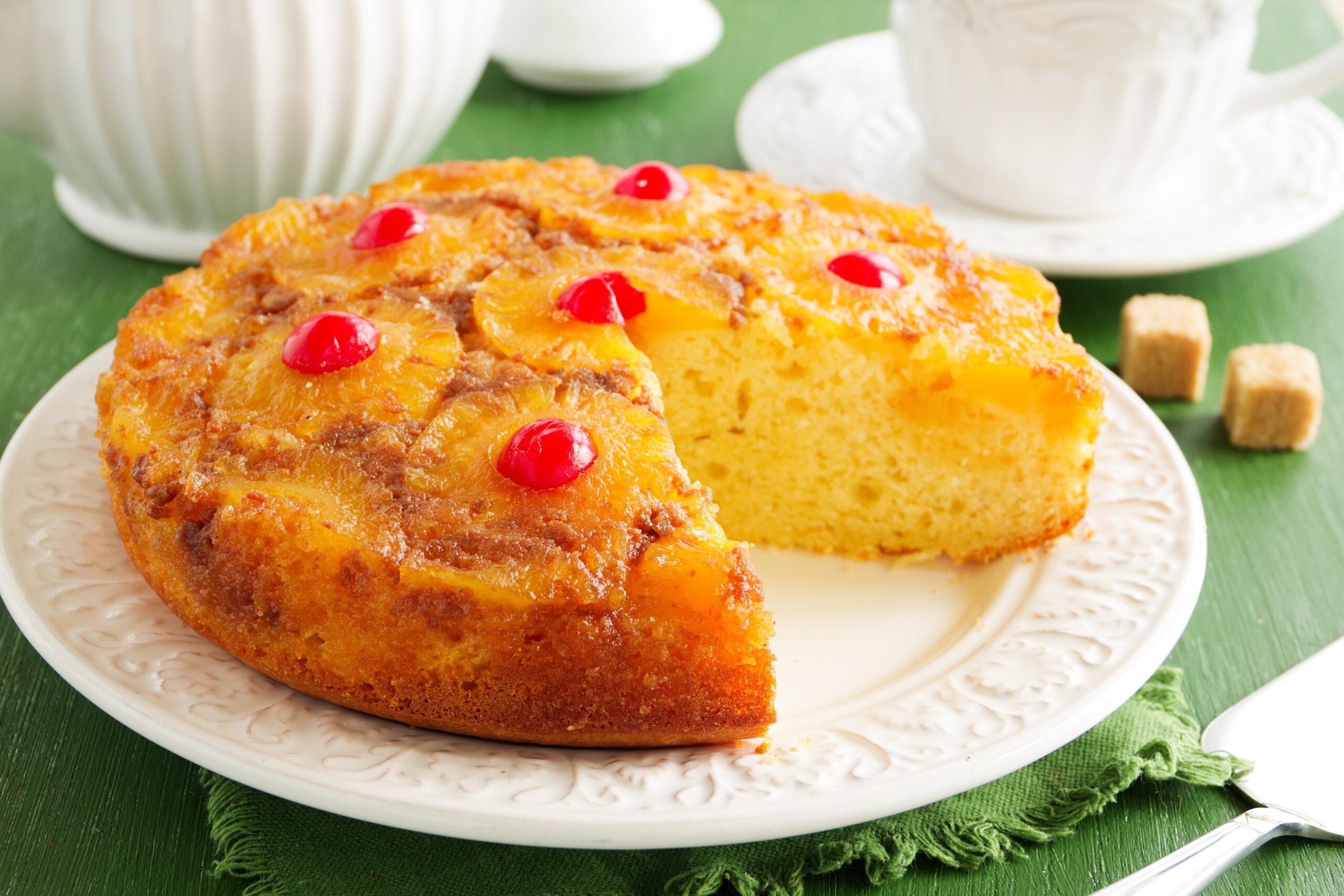Mojo Pineapple Upside Down Cake